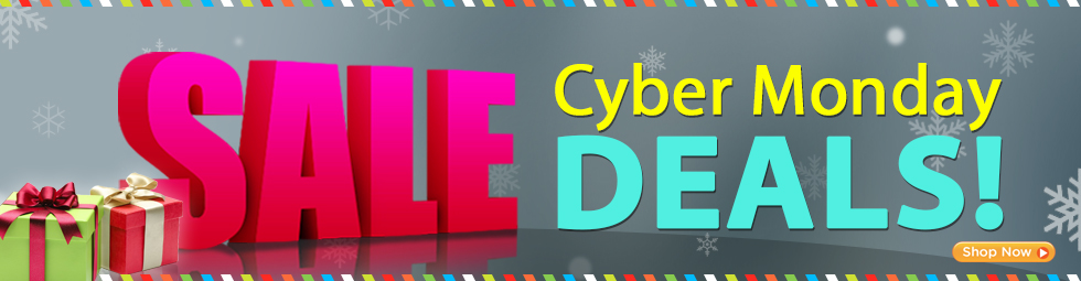 Hurry! Cyber Monday exclusive discounts - save up to 50%