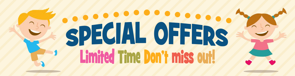 Special Offers - Limited Time. Don't miss out!