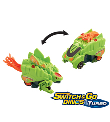 Switch & Go Dinos® Turbo - Spur Stegosaurus