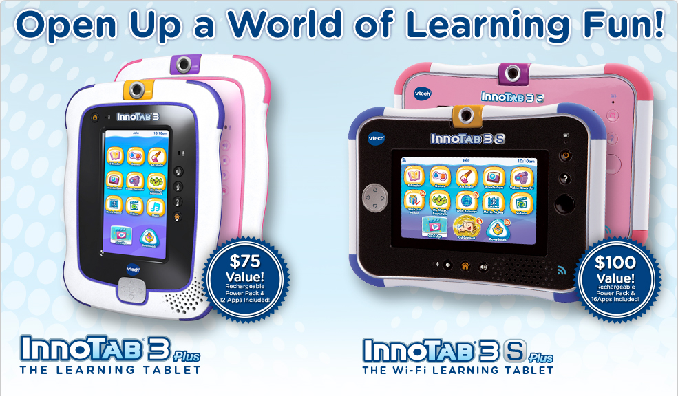 InnoTab3 Plus, InnoTab3S Plus. Open up a world of learning Fun!