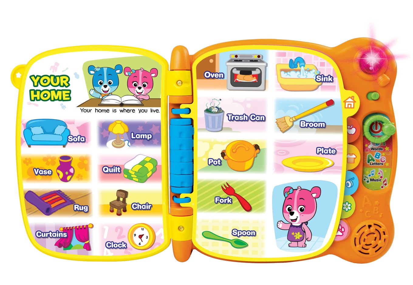vtech book touch and teach