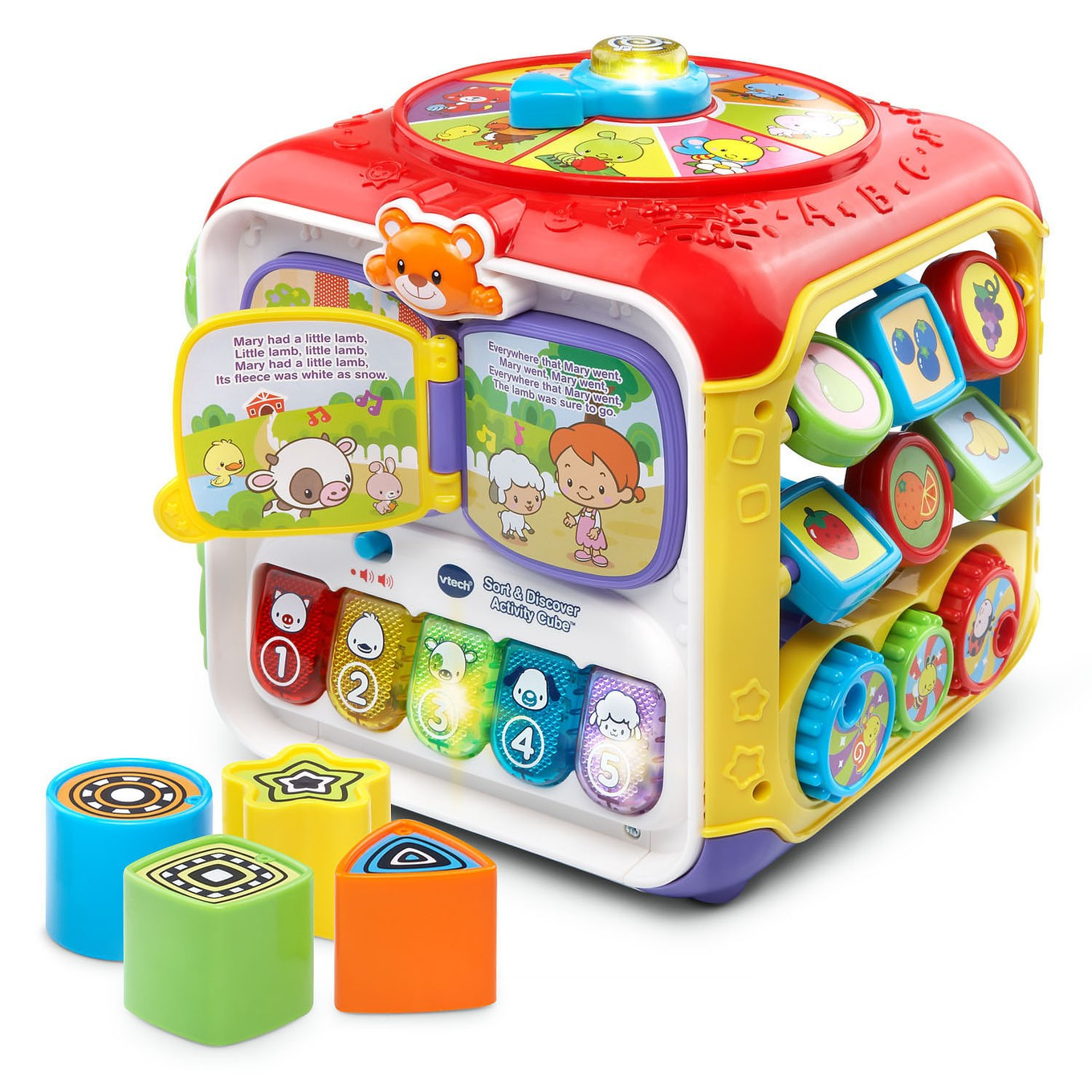 Walmart Educational Toys : Sort discover activity cube™ infant learning vtech