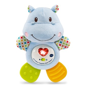 Lil' Critters Huggable Hippo Teether