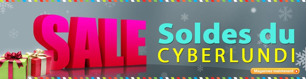 Dépêchez-vous! Ne manquez pas les rabais exclusifs du Cyberlundi - économisez jusqu'à 50 %!
