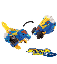 Switch & Go Dinos® Turbo - Ivor le Spinosaure (version française)