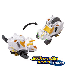 Switch & Go DinosR Turbo - Rox Le Triceratops (version française)