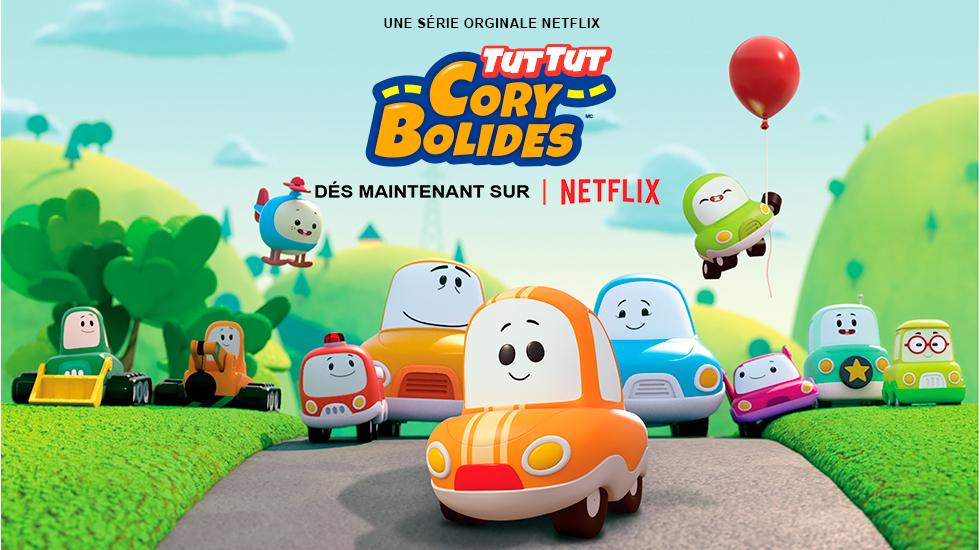 A Netflix original series. Go! Go! Cory Carson. January 4