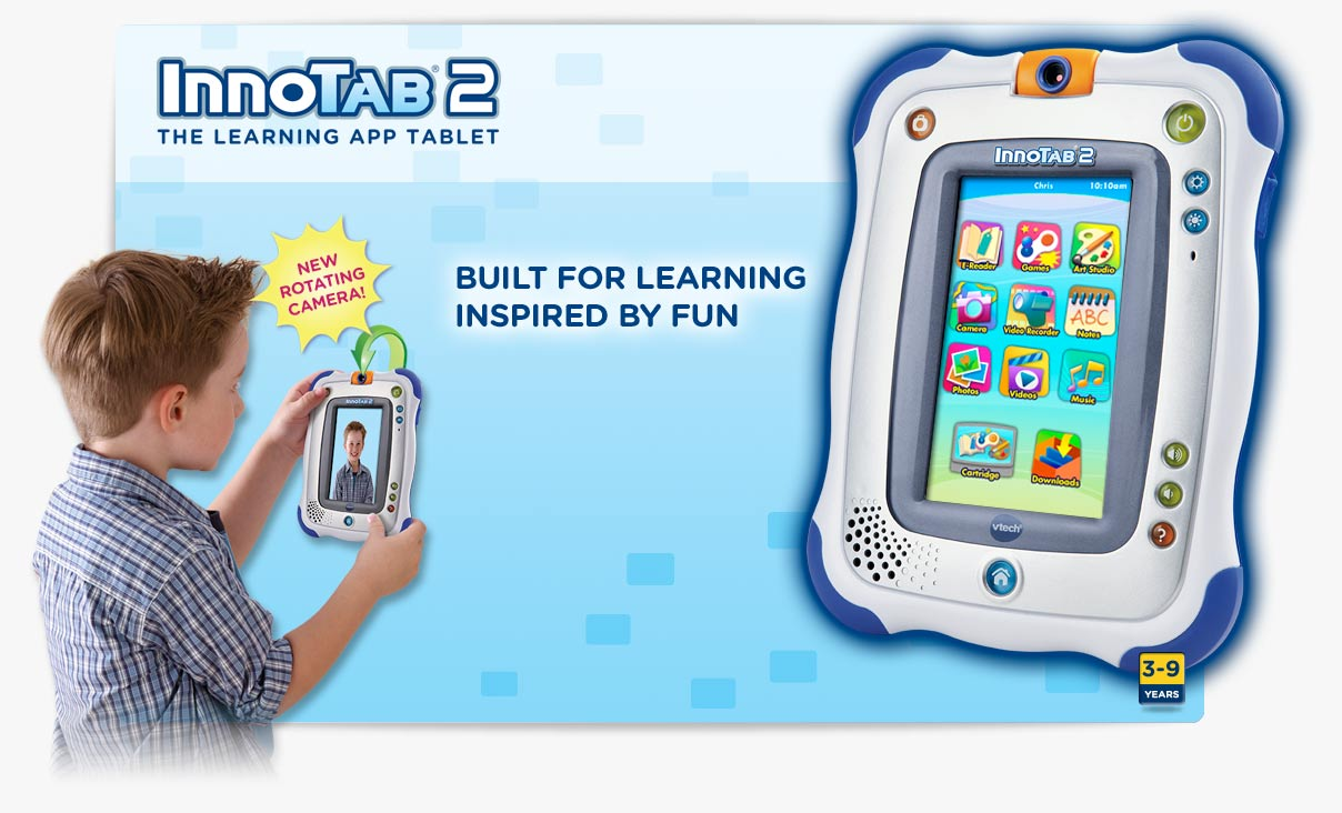 Evecase Vtech Innotab MAX/Little Apps Tablet Sleeve, Ultra Portable Handle Carrying Portfolio Neoprene Sleeve Case Bag for Vtech Innotab MAX 7'' Android Kids Learning Tablet - Blue.