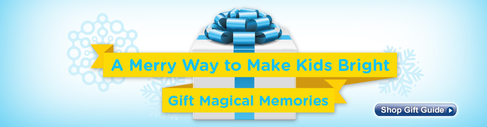 Holiday Gift Guide - A Merry Way to Make Kids Bright! Gift Magical Memories!
