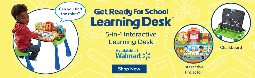 5-in-1 Interactive Learning Desk