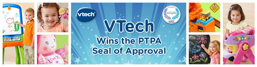 VTech Wins the PTPA Seal of Approval
