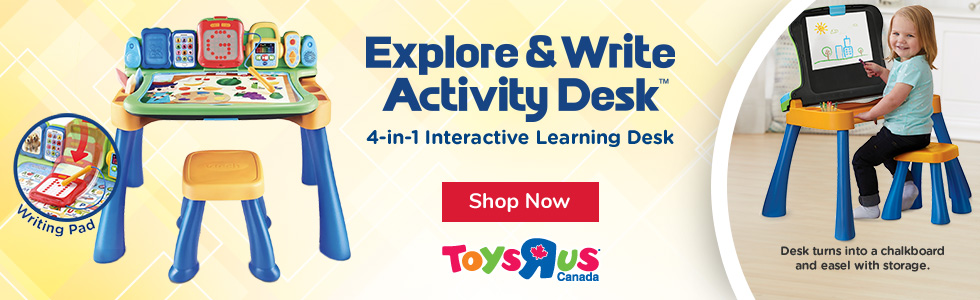 Explore & Write Activity Desk