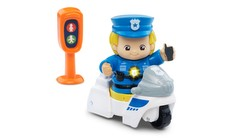 Go! Go! Smart Friends - Police Officer Wayne & his Patrol Set
