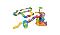 Go! Go! Smart Wheels - Spinning Spiral Tower Playset + Deluxe Track Set