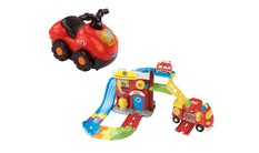 Go! Go! Smart Wheels - Fire Command Rescue Center + ATV