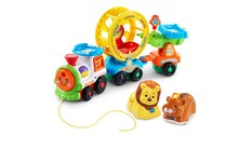 Go! Go! Smart Animals - Roll & Spin Pet Train + Lion