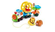 Go! Go! Smart Animals - Roll & Spin Pet Train + Lion